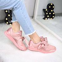 Кроссовки женские под Puma Atlas розовые 3449, спортивная обувь