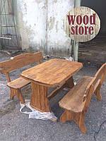 Комплект стол и две лавочки