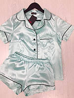Домашняя одежда, атласная пижама для молодежи