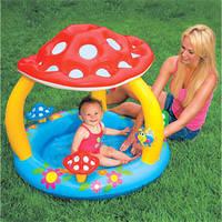 "Дитячий басейн ""мухомор"" з навісом 102х89см 1-3лет"