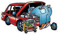 Замена встроенного подвесного подшипника карданного вала Mercedes-Benz