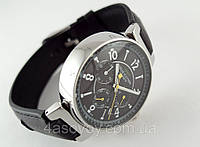 Женские часы Louis Vuitton  chronometer, встроен секундомер, lux копия, black