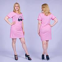 Женская ночная сорочка Турция. MORAL 01-42 L. Размер 48-50.
