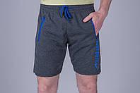 Мужские спортивные шорты ТЕМНО-СЕРЫЕ (трикотаж). Хмельницкий