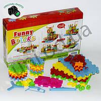 Развивающий конструктор для детей Funny Bricks 81 деталь