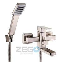 Смеситель для ванны  ZEGOR Z65-LEB3-A123-H, нержавейка