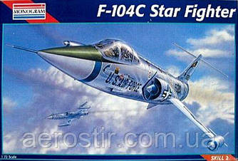 F-104C Starfighter 1/72 MONOGRAM 85-5240