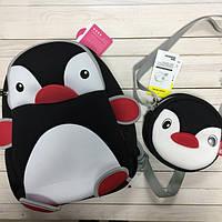 Набор Пингвин  (рюкзак + сумка) + (3 цвета)