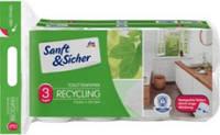 Туалетная бумага Soft & Safe 3х-слойная, 16 рулонов