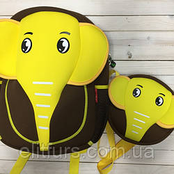 Набор Слоны  (рюкзак + сумка) + (2 цвета)