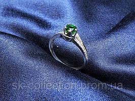 Кольцо женское с цирконием