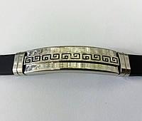 Стильные и крутые, мужские каучуковые браслеты оптом 194