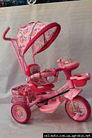 Велосипед детский трехколесный Princess (розовый), фото 1