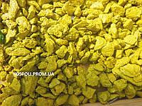 Цветная крошка  для ландшафтного дизайна желтая