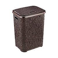 Корзина для белья с крышкой 67 л Ivy Laundry Hamper 450x375x560