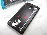Полимерный TPU чехол Cocose Meizu M3 Note (love cat), фото 1