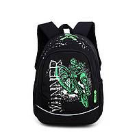 Школьный рюкзак для мальчика с модным принтом