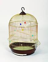 Круглая клетка для попугаев.