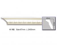 Гладкий карниз для стен из полиуретан Harmony K152