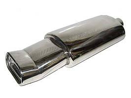 Прямоточный глушитель НГ-0716 d-60mm нержавейка (шт.)