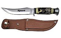 """Туристический нож Tramontina 26011-105, отлично подойдет и для охотника, и для рыболова, из серии """"Спорт"""""""