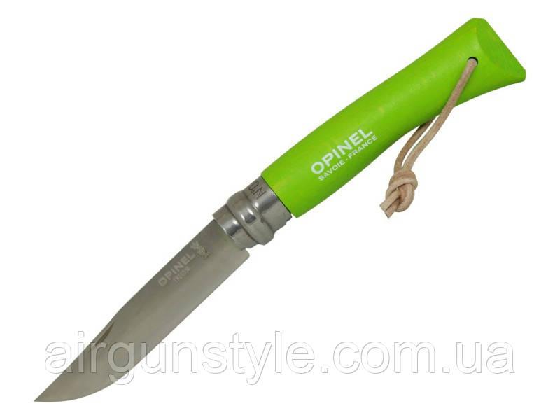 Нож Opinel 7 VRI Trekking ц:светло-зеленый
