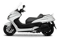Скутер Yamaha Majesty Белая