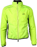 Велокуртка мужская Le Tour de France зелёная (M)