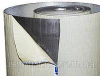 Пенополиэтилен физически вспененный самоклеющийся фольгированный (тепло - звуко изоляция) 1м х 30м х 3мм