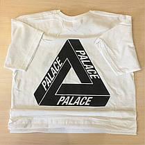 Футболка PALACE Logo унисекс бирка, фото 3