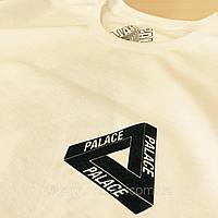 Футболка PALACE мужская белая бирка