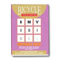 Трюковая колода | Bicycle Invisible deck