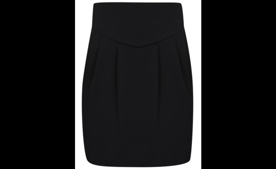 Школьная юбка трикотажная черная на девочку 5-6 лет George (Aнглия)