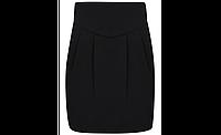 Школьная юбка трикотажная черная на девочку 5-6 лет George (Aнглия), фото 1