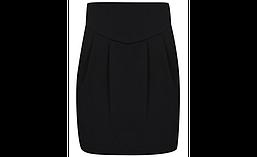 Школьная юбка трикотажная черная на девочку 6 лет George (Aнглия)