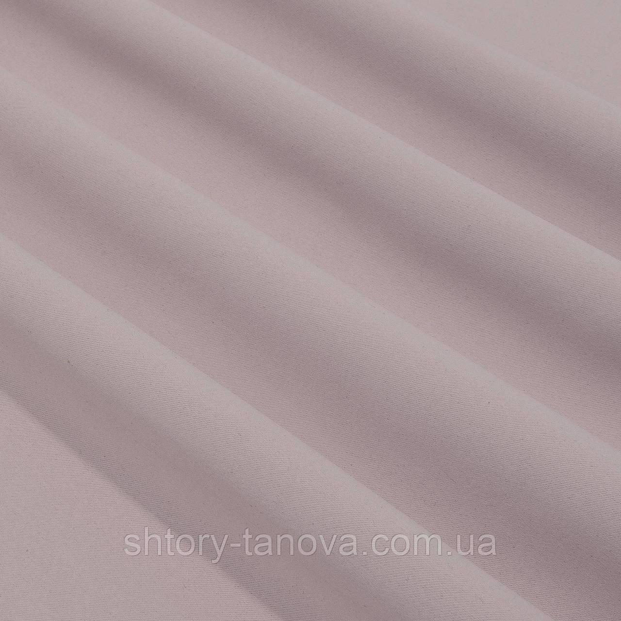 Декор блекаут розовый жемчуг