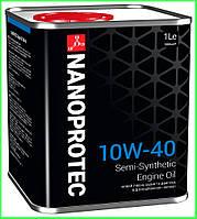 Моторное масло NANOPROTEC 10W-40, 1л, фото 1