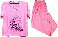 Пижама люкс Турция 100% хлопок размер 3XL ( наш размер 52-54)