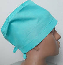 Универсальная медицинская шапочка на завязке, коттон