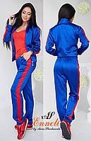 Атласный спортивный костюм в расцветках 817 (491)