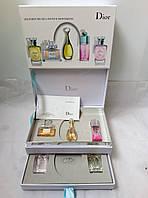 Шикарный набор  парфюма DIOR из 5шт