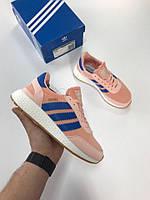 Кроссовки Adidas Iniki Runner Pink. Живое фото. Топ качество! (Реплика ААА+)