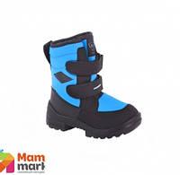 Ботинки зимние для детей Kuoma Crosser Neonblue 1260/67.