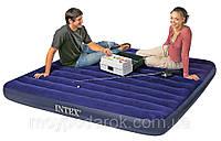Матрас надувной двухспальный Intex 68755 203-183см