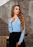 Женская блуза с запахом