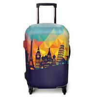 Защитный чехол для чемодана  ЧехлоDan All Europe Dark Series