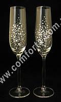 30198 Гармония, серия Элит, свадебные бокалы (2 шт), высота ~ 26 см, объем ~ 190 мл