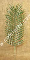 29594 Лист пальмы искусственный, размеры листа ~ 40 х 20 см, высота общая ~ 50 см