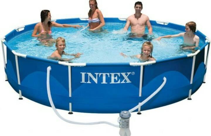 Каркасный бассейн круглый Intex 28212 (366х76см)