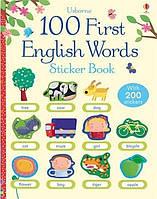First Sticker Book: English Words (100 First Words Sticker Books). Felicity Brooks
